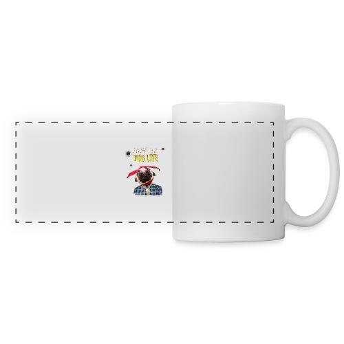 livin' the puglife - Panoramic Mug