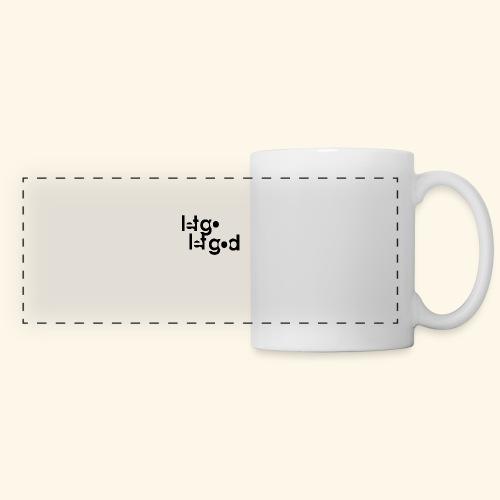 LET GO LET GOD LGLG #1 - Panoramic Mug