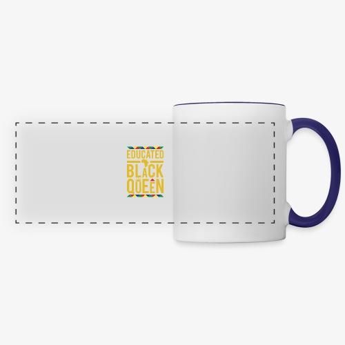 Educated Black Queen - Panoramic Mug