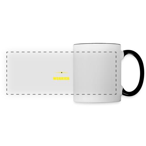 Be a warrior not a worrier - Panoramic Mug