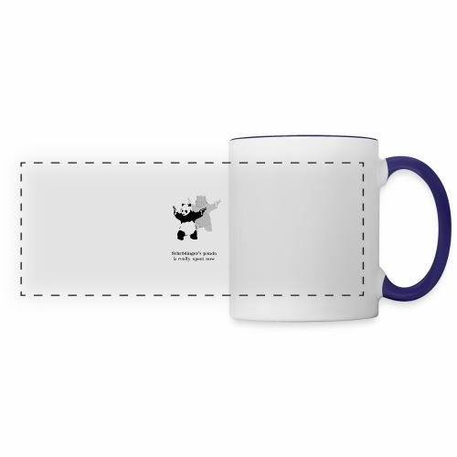 Schrödinger's panda is really upset now - Panoramic Mug