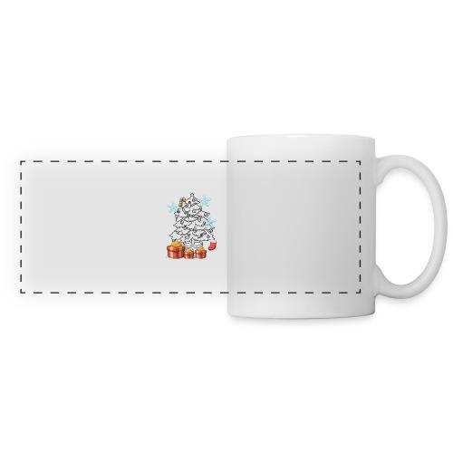 Christmas is here!! - Panoramic Mug