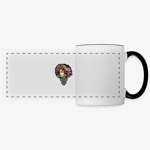 Afro Queen Dashiki - Panoramic Mug