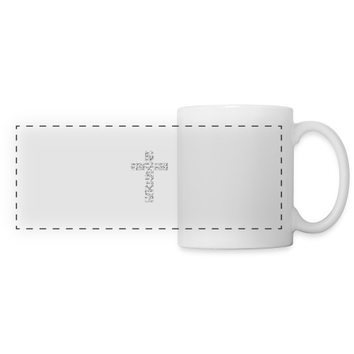 Jesus, I live for you! - Panoramic Mug