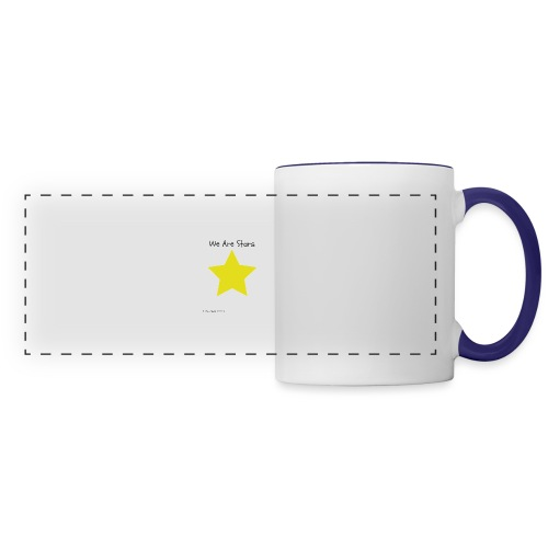 Hi I'm Ronald Seegers Collection-We Are Stars - Panoramic Mug