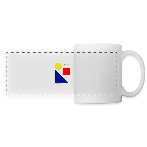 Hi I'm Ronald Seegers Collection-I Love Shapes - Panoramic Mug