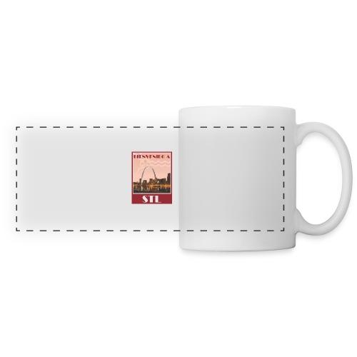 Bienvenido STL Skyline - Panoramic Mug
