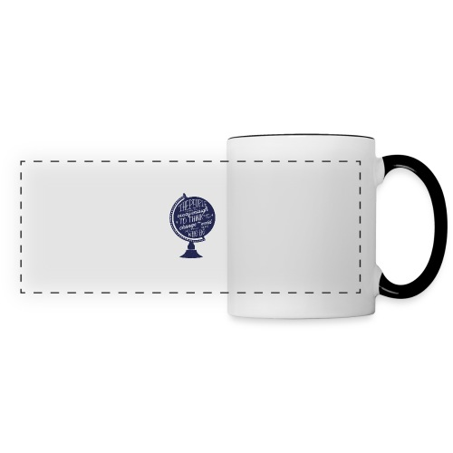 change the world - Panoramic Mug