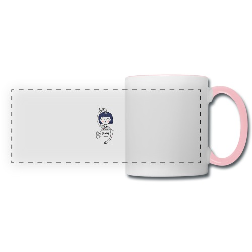 Milk and cereals in the morning - Panoramic Mug