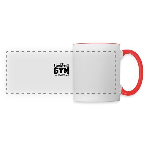 I love the gym - Panoramic Mug