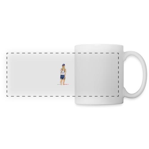 Gina Character Design - Panoramic Mug