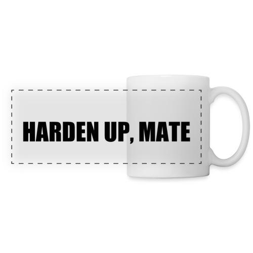 harden up black png - Panoramic Mug