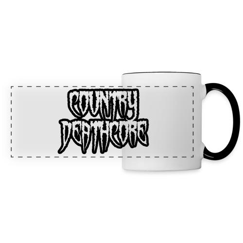 COUNTRY DEATHCORE - Panoramic Mug