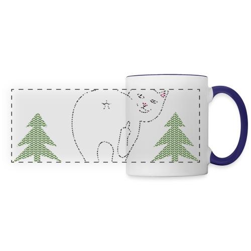 Ugly Christmas Sweater I Do What I Want Cat - Panoramic Mug