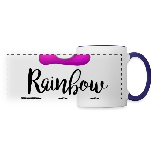 Rainbow Poo - Panoramic Mug