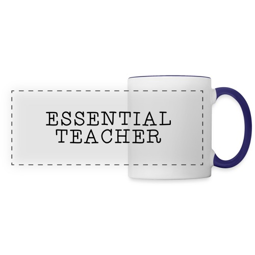 Essential Teacher Quarantine T-shirts - Panoramic Mug