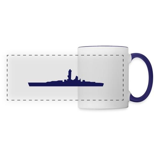 battleship - Panoramic Mug