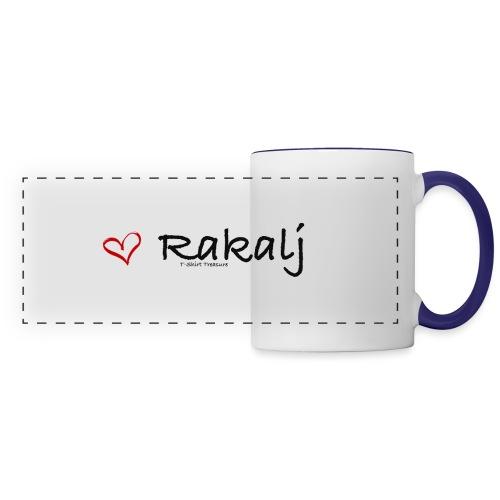 I love Rakalj - Panoramic Mug