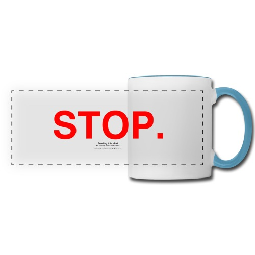 stop - Panoramic Mug