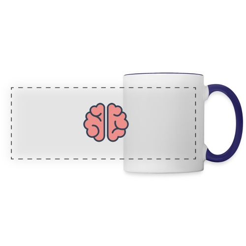 Mind Blank - Panoramic Mug