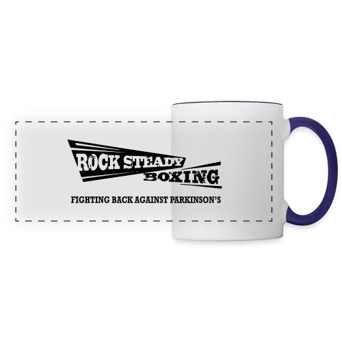 I Am Rock Steady T shirt - Panoramic Mug