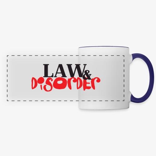 Law DISORDER Logo - Panoramic Mug