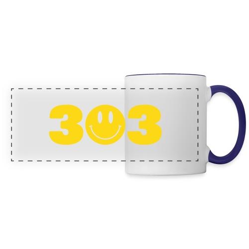 3 Smiley 3 - Panoramic Mug