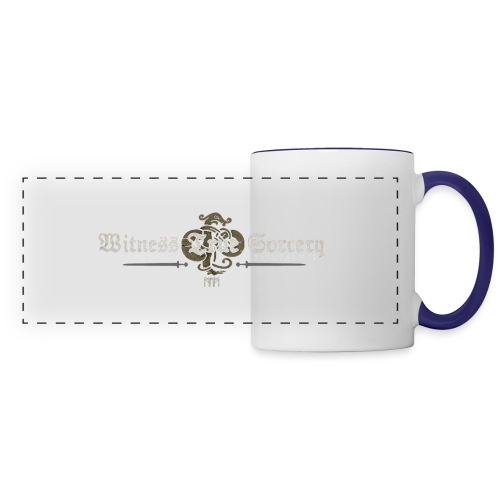 Witness True Sorcery Logo - Panoramic Mug