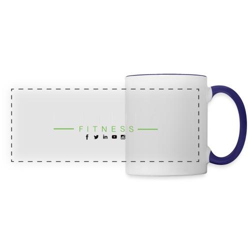 hlfsocialwht - Panoramic Mug