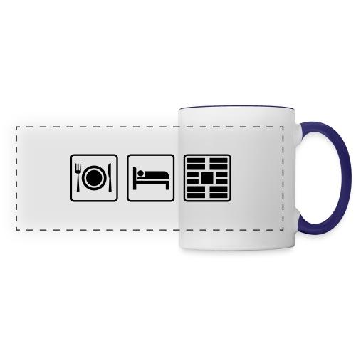 Eat Sleep Urb big fork - Panoramic Mug