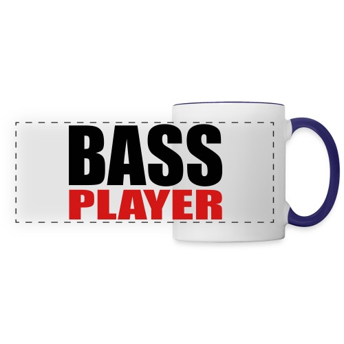Bass Player - Panoramic Mug