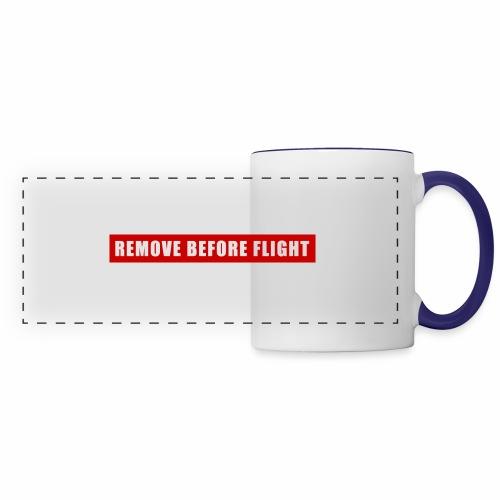 Remove Before Flight - Panoramic Mug