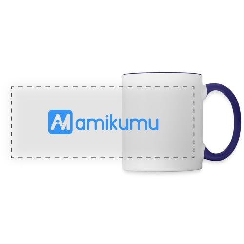 Amikumu Logo Blue - Panoramic Mug