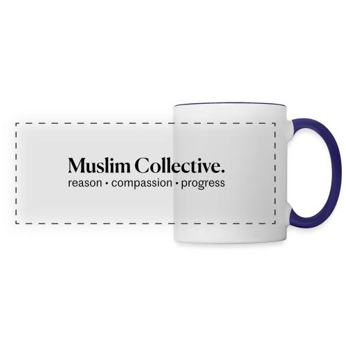 Muslim Collective Logo + tagline - Panoramic Mug