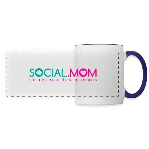 Social.mom logo français - Panoramic Mug