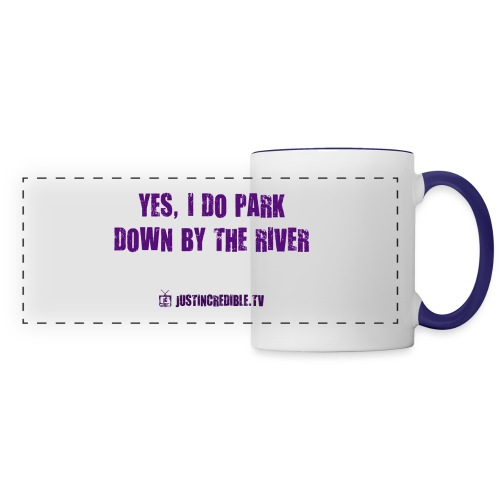 Down by the river - Panoramic Mug