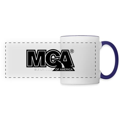 MCA Logo WBG Transparent BLACK TITLEfw fw png - Panoramic Mug