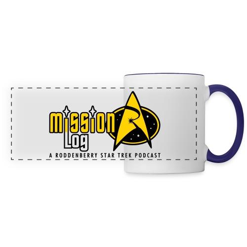 Logo Wide 2 Color Black Text - Panoramic Mug