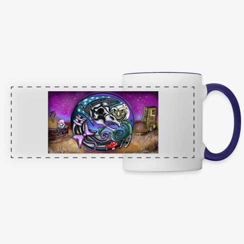 Mother CreepyPasta Land - Panoramic Mug