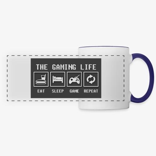 Gaming is life - Panoramic Mug
