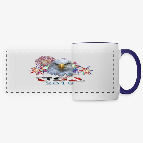 USA EAGLE 2018 - Panoramic Mug