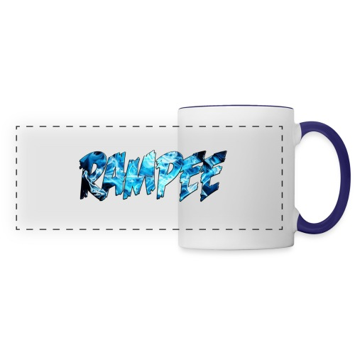 Blue Ice - Panoramic Mug