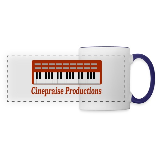 Cinepraise Logo Red Text - Panoramic Mug