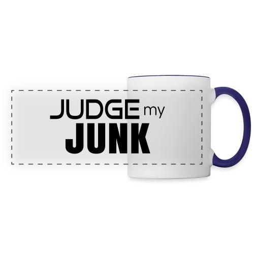 Judge my Junk Tshirt 03 - Panoramic Mug