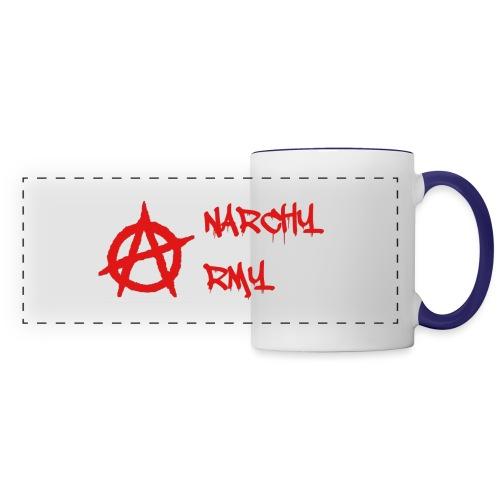 Anarchy Army LOGO - Panoramic Mug