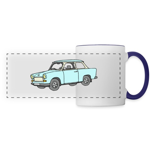 Trabant (lightblue) - Panoramic Mug