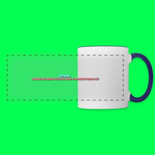 my original quote - Panoramic Mug