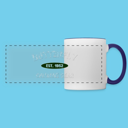 Butterfly est 1952-M - Panoramic Mug