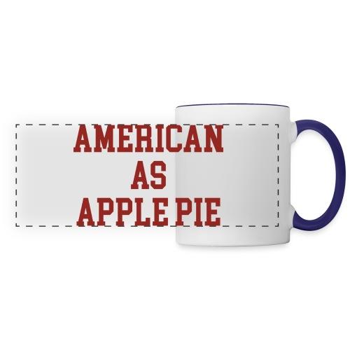 American as Apple Pie - Panoramic Mug