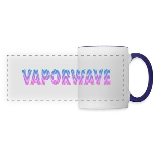 Vaporwave Wave - Panoramic Mug